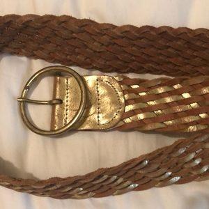 Express Accessories - Express gold belt